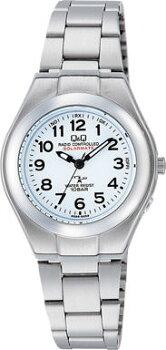 CITIZENQ&Qシチズンキューアンドキュー電波ソーラー腕時計10気圧防水レディースHJ01-204