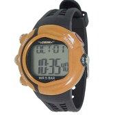 テルバ 腕時計 心拍計測機能付 デジタル メンズウォッチ TEV-2513-OR オレンジ