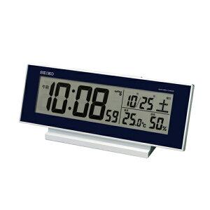 806fd8be1b 置き時計 置時計 温度湿度計 日付表示 電波時計 セイコー クロック SEIKO デジタル 温度 湿度表示