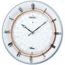 掛け時計 壁掛け時計 電波時計 セイコー クロック SEIKO ディズニータイム アナログ スワロフスキーエレメント FS501W