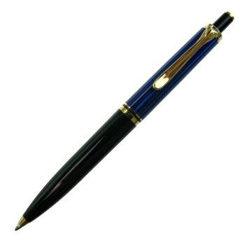 PelikanペリカンスーベレーンK400ブルー縞ボールペンk400blue