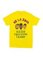 バンドTシャツDELASOUL/FROMAMITYVILLEONYELLOWデ・ラ・ソウルオフィシャルバンドTシャツヒップホップラップ