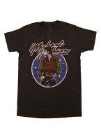 バンドTシャツMICHAELJACKSON/MJTHRILLER2マイケル・ジャクソンオフィシャルミュージックTシャツキング・オブ・ポップ