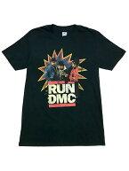 バンドTシャツRUN-DMC/POW!ランDMCオフィシャルミュージックTシャツヒップホップラップDefJam