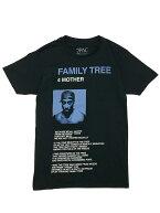 バンドTシャツ2PAC/FAMILYTREE2パックTUPACオフィシャルミュージックTシャツ長袖バックプリントヒップホップラップJUICEジュース