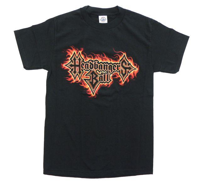 【DEADSTOCK(デッドストック)】 HEADBANGERS BALL/ FLAME LOGO オフィシャル ロックTシャツ MTV ERIC HAZE エリック・ヘイズ HATEBREED ヘイトブリード ROB ZOMBIE ロブ・ゾンビ