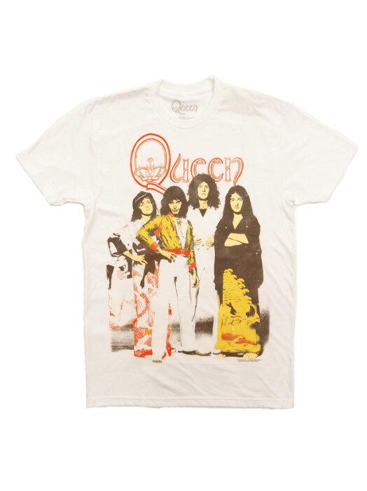バンドTシャツ QUEEN / BAND クイーン オフィシャル ロックTシャツ ソフトボディ ハードロック フレディ・マーキュリー ボヘミアン・ラプソディ