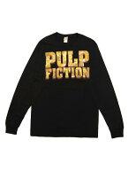 ムービーTシャツPULPFICTION/PULPLOGOLSパルプ・フィクションオフィシャル映画Tシャツ長袖ロゴクエンティン・タランティーノ