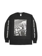 ポスト便なら送料164円(K)OLLAPS×VMOTEE限定生産WネームロングスリーブTシャツ袖プリントバックプリント