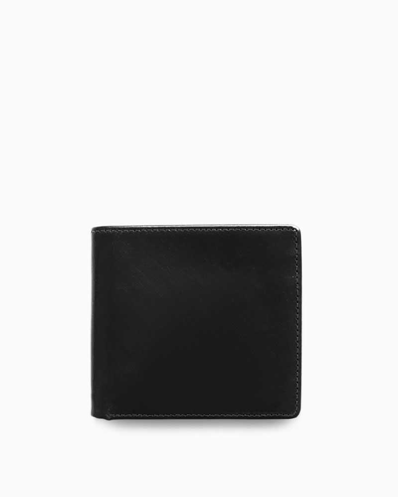 【ホワイトハウスコックスWhitehouseCox】/S7532コインケース付2つ折ウォレット/ブラック