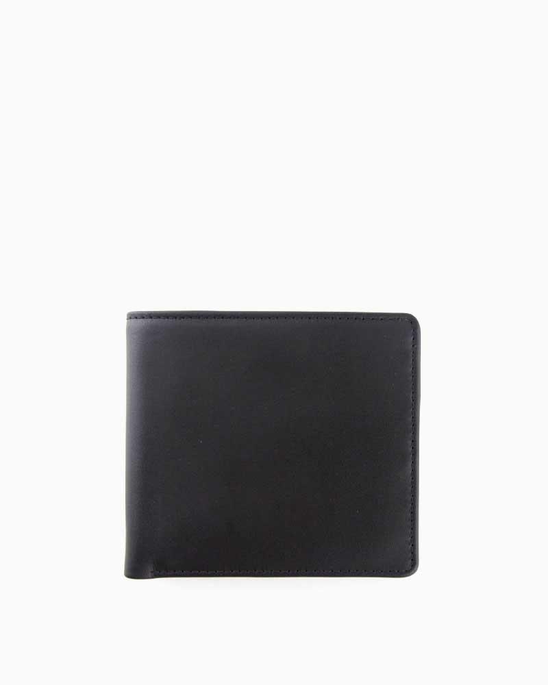 ホワイトハウスコックス【WhitehouseCox】S7532(ブラック×タン)ダービーコレクションホースハイドコインケース付2つ折ウォレット