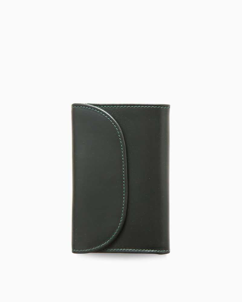 ホワイトハウスコックス【Whitehouse Cox】型番:S7660(オリーブ/ナチュラル) 財布 三つ折り財布 ツートン ヴィンテージブライドルレザー 牛革 男女兼用(オリーブ)(ナチュラル):フレームショップ