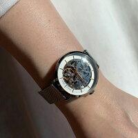 ピエールラニエオートマティックウォッチレディース腕時計ブランド丸型