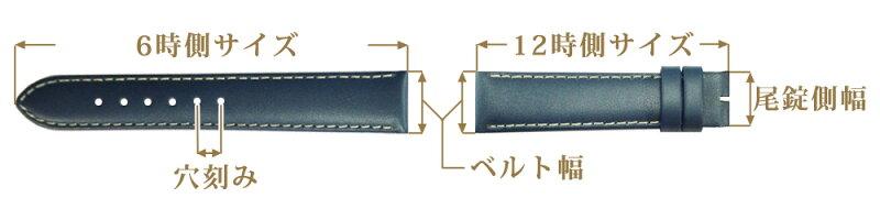 PierreLannier/ピエールラニエ/腕時計ベルトサイズガイド