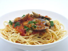 甘くて美味しい♪イタリア産トマトの[ボンゴレロッソ](1人前)