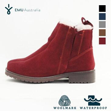 EMU/エミュ Pioneer パイオニア (W11292) 防水ブーツ シープスキン ムートン 内ボア サイドゴアブーツ (2017秋冬商品) (15%OFFクーポン対象)