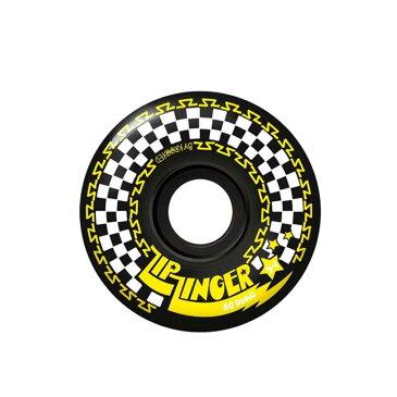 KROOKED クルキッド ウィール wheel ZIP ZINGER 80 BLACK 54mm 通販 skateboard スケボー ジップジンガー ソフトウィール