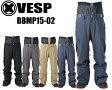あす楽15-16モデル VESP ベスプ STANDARD CARGO PANTS (BBMP15-02)スノーボードウェアパンツRSS