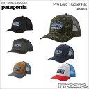 【数量限定】最大1200円OFFクーポン配布中!!パタゴニア PATAGONIA キャップ 38017<P-6 Logo Trucker Hat P6トラッカー ハット>※取り寄せ品
