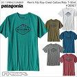 パタゴニア PATAGONIA Tシャツ 38907<M's Fitz Roy Crest Cotton/Poly T-Shirt メンズ フィッツロイ クレスト コットン/ポリ Tシャツ>※取り寄せ品