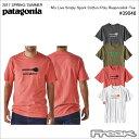 【数量限定】最大1200円OFFクーポン配布中!!パタゴニア PATAGONIA Tシャツ 39046<M's Live Simply Spork Cotton/Poly Responsibili-Tee メンズ リブ シンプリー スポーク コットン/ポリ レスポンシビリティー>※取り寄せ品