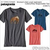 PATAGONIA パタゴニア Tシャツ レディース 39071<Women's Eat Local Upstream Cotton/Poly Responsibili-Tee ウィメンズ イート ローカル アップストリーム コットン/ポリ レスポンシビリティー>※取り寄せ品