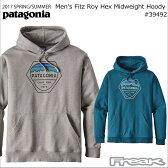 (PATAGONIA パタゴニア パーカ) 39492<M's Fitz Roy Hex MW Hoody メンズ フィッツロイ ヘックス ミッドウェイト フーディ>※取り寄せ品