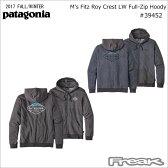 パタゴニア PATAGONIA 39452<M's Fitz Roy Crest LW Full-Zip Hoody メンズ・フィッツロイ・クレスト・ライトウェイト・フルジップ・フーディ>※取り寄せ品