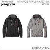 パタゴニア PATAGONIA 39526<M's Small Flying Fish PolyCycle Full-Zip Hoody メンズ・スモール・フライング・フィッシュ・ポリサイクル・フルジップ・フーディ>※取り寄せ品