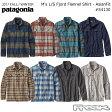 『200円OFFクーポン』配布中☆パタゴニア PATAGONIA  長袖シャツ 54130M's L/S Fjord Flannel Shirt - AF メンズ ロングスリーブ フィヨルド フランネル シャツ(アジア フィット)>※取り寄せ品