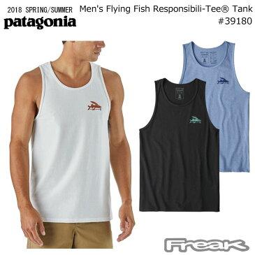 パタゴニア PATAGONIA メンズ タンクトップ 39180<Men's Flying Fish Responsibili-Tee Tankメンズ フライング フィッシュ レスポンシビリティー タンク> 18SS※取り寄せ品