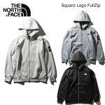 ノースフェイス メンズ スクエアロゴフルジップ フードスエット THE NORTH FACE Square Logo FullZip NT61836