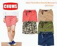 CHUMS チャムス CH13-1021<Zion Twill Slim Shorts Women's ザイオンツイルスリムショーツ>※取り寄せ品