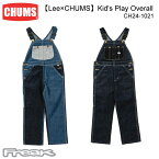 CHUMS チャムス CH24-1021<Lee×CHUMS) Kid's Play Overall キッズプレイオーバーオール>※取り寄せ品