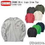 CHUMS チャムス メンズ スウェット トレーナー CH00-1233<CHUMS Mini Logo Crew Top  チャムスミニロゴクルートップ(トップス/スウェット)>※取り寄せ品