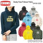 CHUMS チャムス レディース パーカー CH10-1222<Booby Face Pullover Parka  ブービーフェイスプルオーバーパーカー>※取り寄せ品