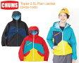 CHUMS チャムス CH04-1000<Topaz 2.5L Rain Jacket トパズ2.5レイヤーレインジャケット>※取り寄せ品