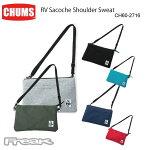 CHUMS チャムス ショルダーバッグ  CH60-2716<RV Sacoche Shoulder Sweat リバーシブルサコッシュショルダースウェット>※取り寄せ品