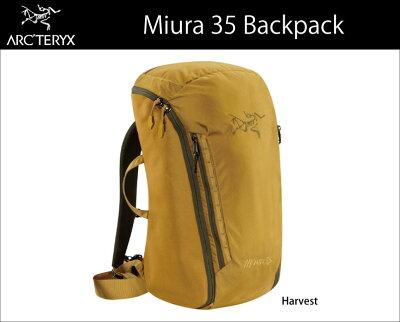 2015春夏商品【ARC'TERYX アークテリクス】<Miura 35 Backpack>バックパック 国内正規品