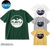 KAVU カブー メンズ Tシャツ 半袖 Circle Logo Tee  サークルロゴティーシャツ メール便発送 メンズ アウトドア Tシャツ ロゴT