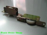 鉄枠ウレタン調整戸車(平型)2個入(m-007)