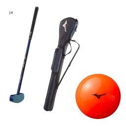 メンズ レディース グラウンド ゴルフ セット 日本グラウンドゴルフ協会認定品 グラブ ボール ケース 3点セット ミズノ Mizuno C3JLG851