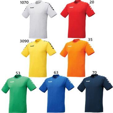 ヒュンメル hummel メンズ プレゲームシャツ サッカーウェア フットサルウェア トップス 半袖 HAG3016