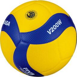 メンズ レディース 国際公認球 検定球5号 バレーボール 競技用 ミカサ MIKASA V200W