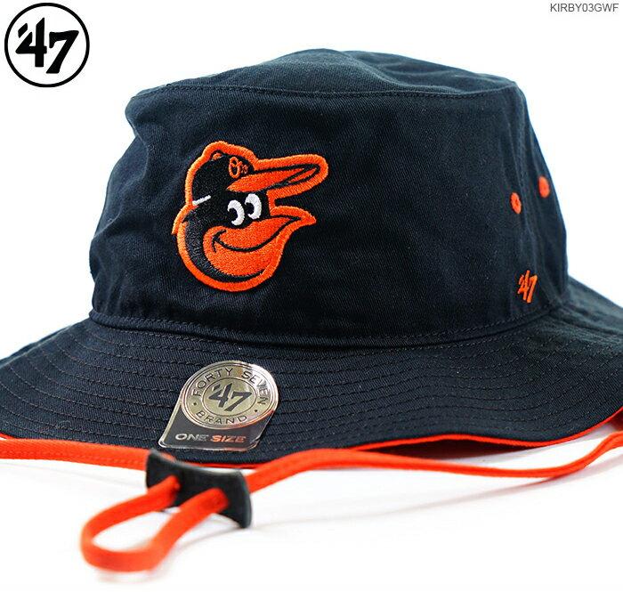 メンズ帽子, ハット 250047 ORIOLES 47 KIRBY BUCKET