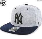 47Brand キャップ【 ヤンキース スナップバック 】YANKEES QUAKE '47 CAPTAIN/47 Brand (47ブランド) MLB キャップ/YANKEES/ニューヨーク/ヤンキース/あす楽対応/