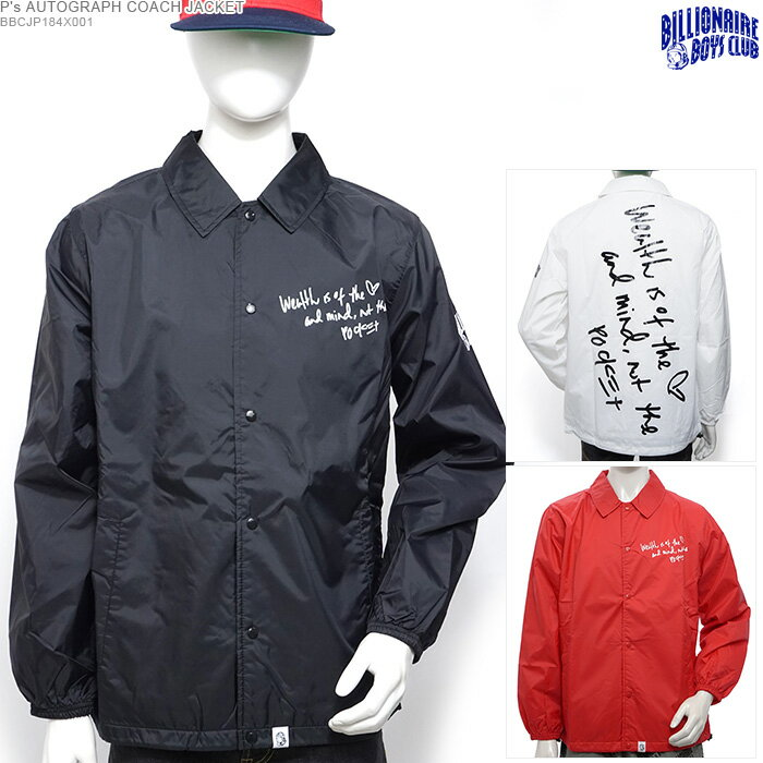 メンズファッション, コート・ジャケット 50OFF BILLIONAIRE BOYS CLUB Ps AUTOGRAPH COACH JACKET BBC