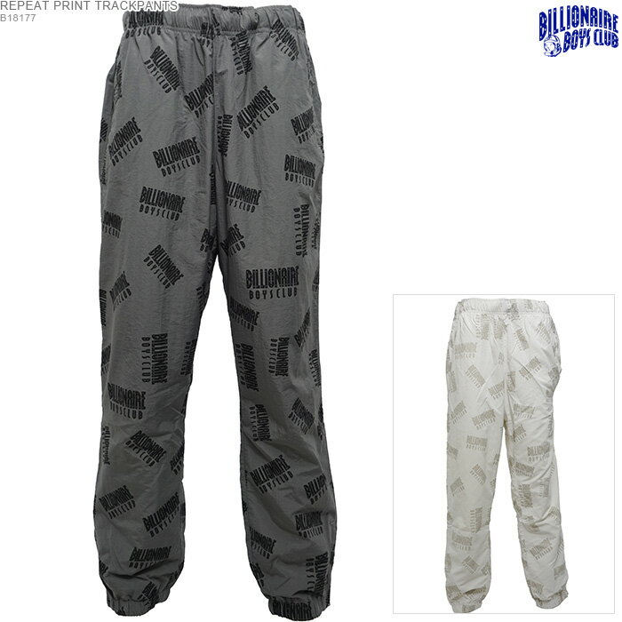 メンズファッション, ズボン・パンツ 50OFFBILLIONAIRE BOYS CLUB REPEAT PRINT TRACKPANTS BBC