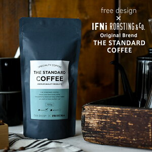 free design×IFNi ROASTING&CO.THE STANDARD COFFEE(ザ スタンダード コーヒー) 100g