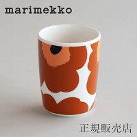 マリメッコ ラテマグ(marimekko)ウニッコ トール ブラウン×ブラック